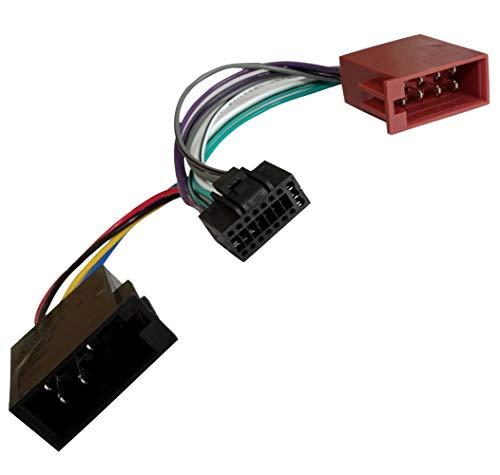 AERZETIX: Adaptador ISO cable radio coche C1771