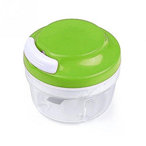 SUDOOK Küchenschneider Küchenwerkzeug Zwiebelschneider VeggiChop Schneider Handarbeit Essenszerkleinerer grün