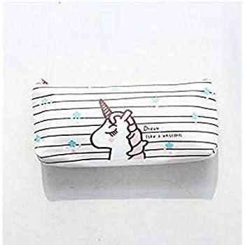 SUNXIN Filles gar?ons enfants Trousse Licorne papeterie Pouch /école Stylo crayon Organiseur Funny Cute Bureau Trousse /à maquillage