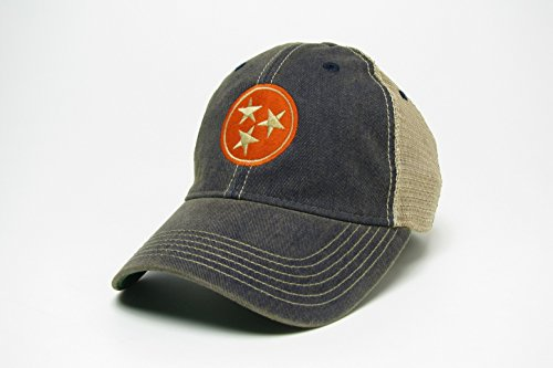 ker Style Hat/Cap-2Farben-Grau und Navy (Marineblau) ()