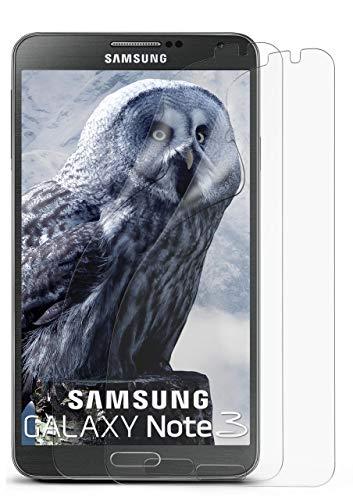 2X Samsung Galaxy Note 3 | Schutzfolie Matt Display Schutz [Anti-Reflex] Screen Protector Fingerprint Handy-Folie Matte Displayschutz-Folie für Samsung Galaxy Note 3 Displayfolie