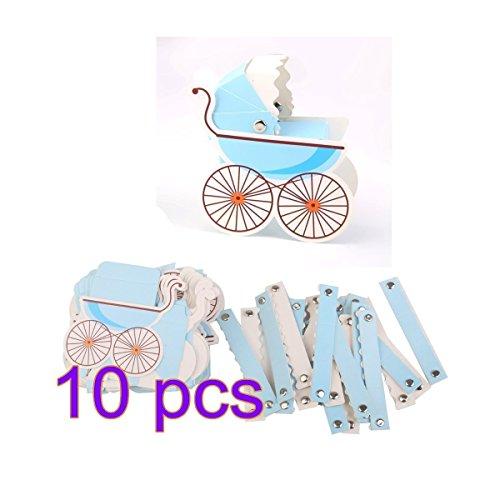 Süßigkeiten Geschenk Boxen Baby Dusche Kinderwagen Gastgeschenken Form (Baby Dusche Süßigkeiten Formen)