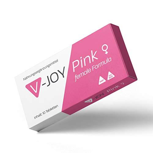 V-JOY Pink - Für aktive Frauen - 10 Kapseln hochdosiert
