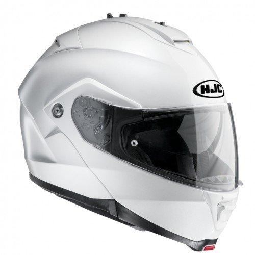 HJC Moto Casco IS Max II Perla, color blanco, tamaño S