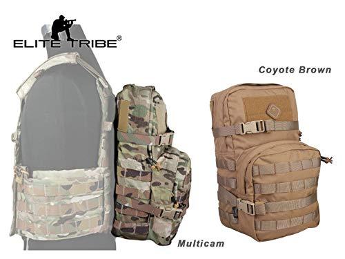 eLITe Tribe Modular-Pack, 2,5 l, Molle Rucksack für Militär, Multicam