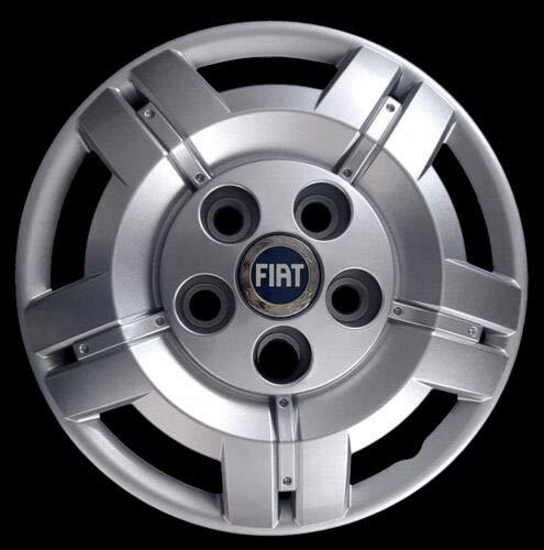 Generico Fiat DUCATO COPRICERCHIO BORCHIA Uno (1) FURGONI E Camper 1301 DIAM 16 Logo Blu