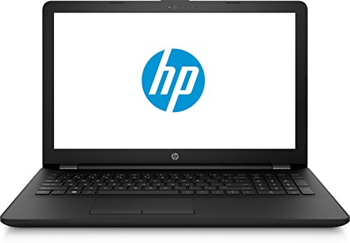 HP Notebook 15-bs520ns - Portátil de 15' (Procesador Intel Core i3-6006U Memoria RAM 8 GB Disco Duro 256GB SSD), Color Negro