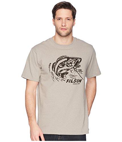 Filson Herren T-Shirt Outfitter Graphic Short Sleeve - grau - Klein Filson Outfitter