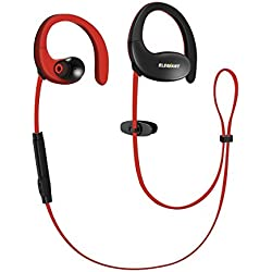 ELEGIANT Auriculares Deportivos Impermeables IPX5 Bluetooth 4.1Inalámbricos de Sonido Bass Estéreo hasta 12 horas de Uso para iOS Android