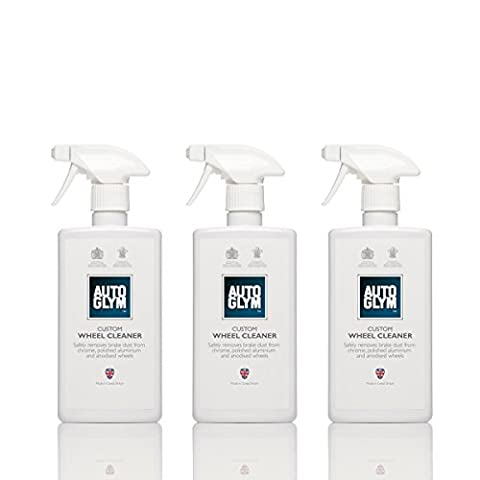 Genuine Autoglym Custom Wheel Cleaner 500ml x3 Bundle SAVE 10%