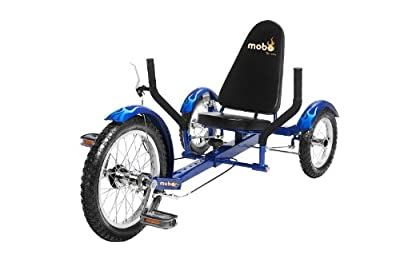 "MOBO Cruiser ""Triton"" recumbent bicycle Tricycle - Blue"