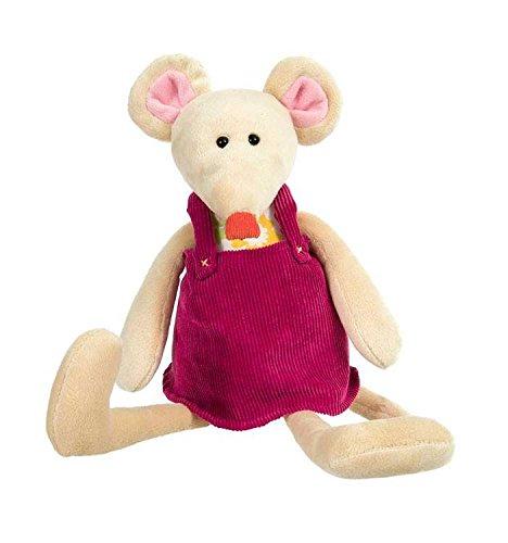 Egmont Toys Maus Valentine als Kuscheltier, Stofftier, Plüschtier, ca. 38 cm Plüschtiere Valentine