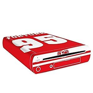 DeinDesign Skin Aufkleber Sticker Folie für Nintendo Wii U Konsole Fanartikel Fortuna F95 Duesseldorf
