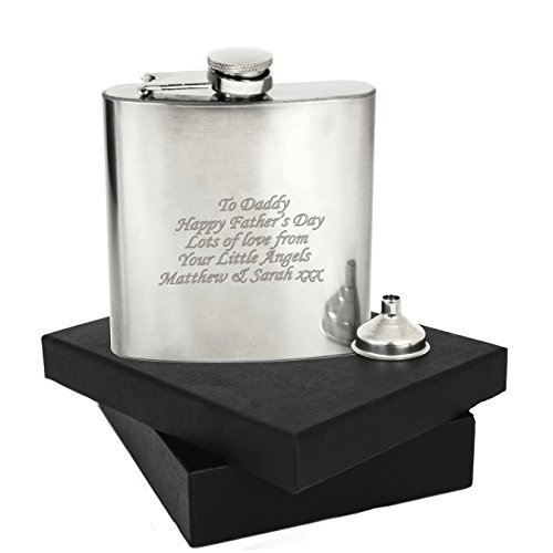 Personalised 6oz Hip Flask