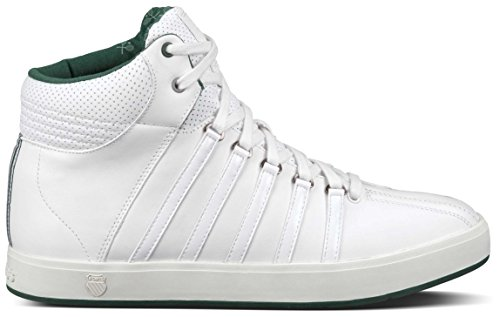 K-Swiss, Sneaker uomo Blanco / Verde