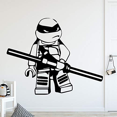 D Ninja Turtles Wohnkultur Wandaufkleber Für Kinderzimmer Wohnzimmer Wohnkultur Aufkleber Wohnkultur L 43 cm X 34 cm