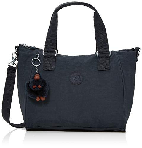 Kipling Damen Amiel Umhängetasche, Blau (True Navy), 24.5x27x14.5 Centimeters - Navy Tasche