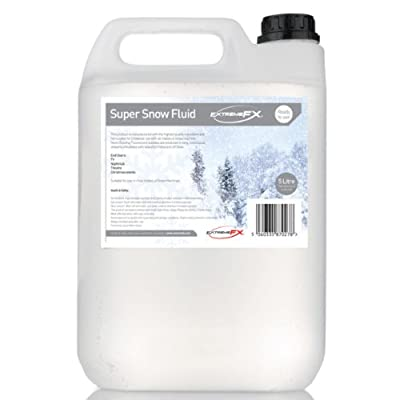 Snow Fluid 4x5L UK Free UPS Delivery Snow machine liquid juice fake snow
