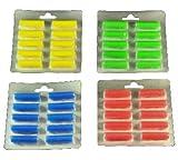 40 Duftstäbchen.grün, gelb, blau, rot Duftis, Noten