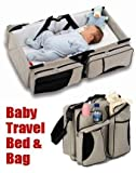 ZZ ZONEX Travel Bed and Diaper Bag for B...