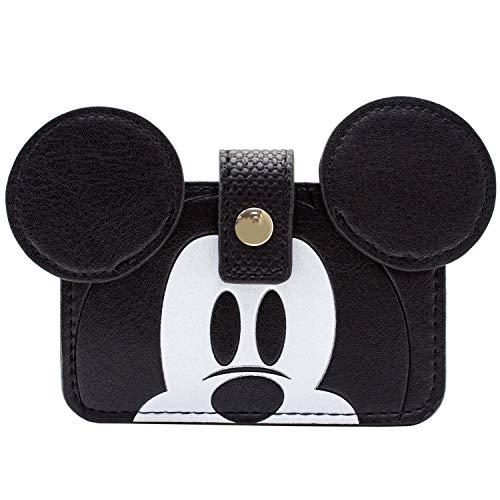 Donald Und Mickey Kostüm - Mickey Mouse Seit 1928 Gold Emblem Kartenhalter Schwarz