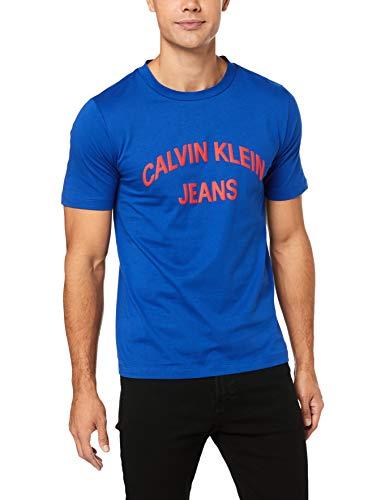 Calvin klein jeans j30j311471 t-shirt uomo blu l