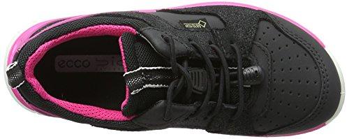 Ecco Biom, Chaussures Multisport Outdoor Fille Noir (50230Black/Black-Black)