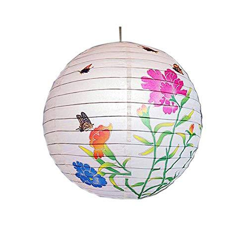 ische/japanische Art hängende Laterne dekorative Papierlaterne 16
