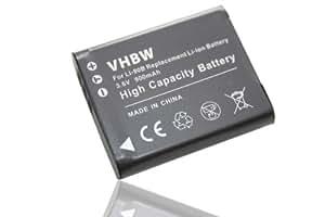 Batterie Li-Ion 900mAh pour OLYMPUS