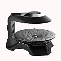 BBQ Grill 3D Far Infrared Intelligence 1200 W Electric Grill Grill Adjustable Temperature Settings Ideal for Indoor and Outdoor Use Smoke-Fr