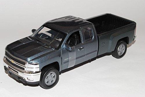 chevrolet-chevy-silverado-2500hd-pick-up-grau-2011-1-32-new-ray-modell-auto