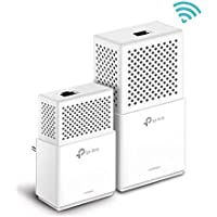 TP-Link TL-WPA7510KIT - Extensor de Red WiFi Gigabit Powerline (1000Mbps Powerline, Doble Banda AC750Mbps Wi-Fi 802.11ac, Sincronización automática Wi-Fi, Plug y Play, WiFi Move)
