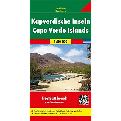 Carte routière : Kap Verde