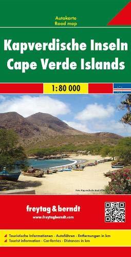 Kapverdische Inseln. Autokarte. 1 : 80 000. -