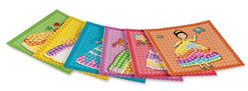 Play maíz 160197-Card Set Mosaic Dream Princess, Juego de Manualidades