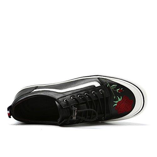 Hommes Casual Mens chaussures en cuir décontractés nouveaux chaussures de sport en plein air chaussures habillées chaussures de conduite ( Color : B-42 ) B-39