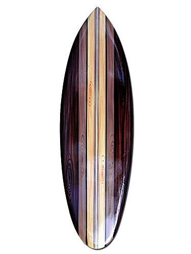 Seestern Sportswear Deko Holz Surfboard 50,80 oder 100 cm Airbrush Design Surfing Surfen Wellenreiten Surf /FBA_1851 80 cm