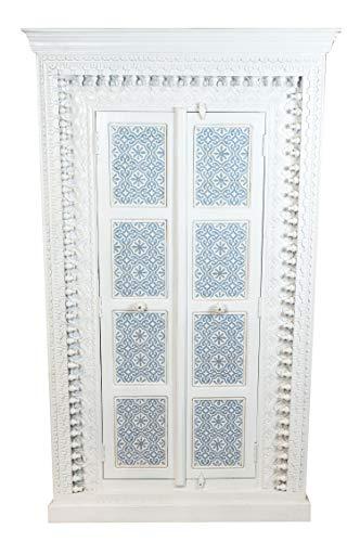Orientalischer Grosser Schrank Kleiderschrank BAB 189cm hoch   Marokkanischer Vintage Dielenschrank...