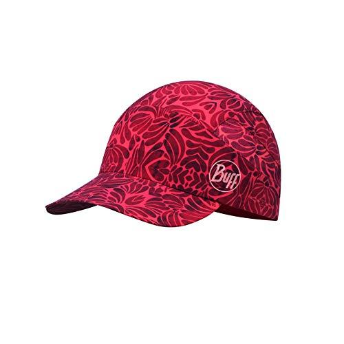 Buff Damen Pack Patterned Trek Cap, Calyx Grenadine, One Size