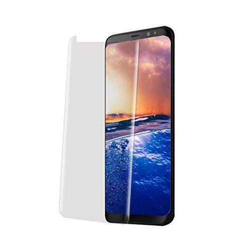 Samsung Galaxy S8/ S8 Plus panzerglas,Displayschutz panzerfolie Schirmschutz für Samsung-Galaxie S8/ S8 Plus Premium Gehärtetem Glas Vollständige Abdeckung (Transparent, Samsung Galaxy S8 Plus)