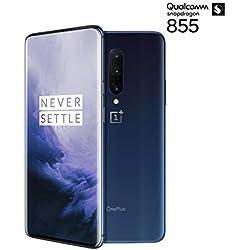 OnePlus 7 Pro - Smartphone Débloqué 4G (Ecran: 6,67 pouces - 12Go Ram - 256Go Stockage) Nebula Blue [Version française]