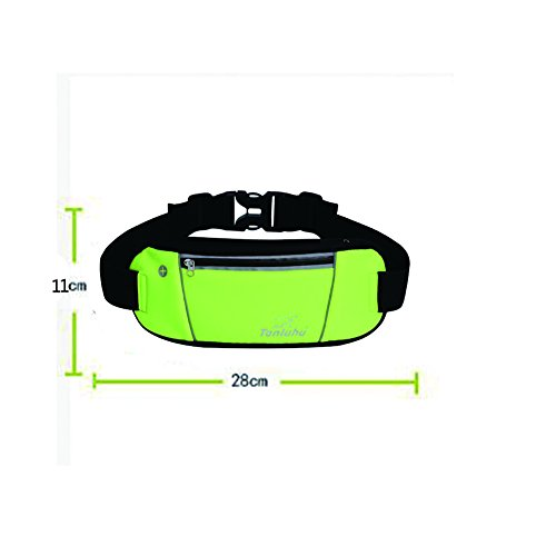 Outdoor Sport Running Tasche superdünn Mini Handy Modische Gürteltasche gelb