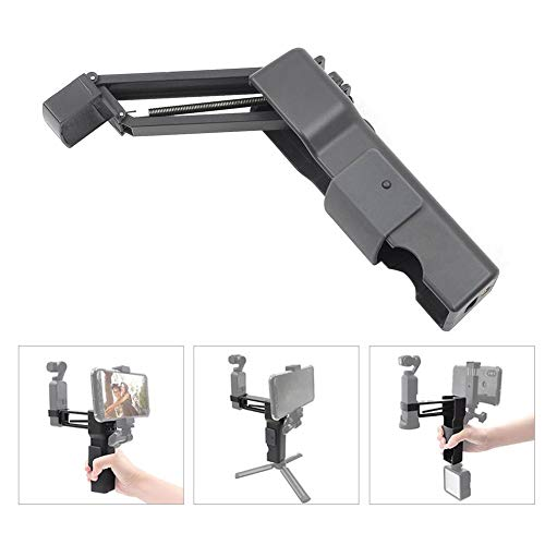 Luckyx Stabilisator Für Die DJI OSMO Pocket Action-Kamera Und Das Smartphone Bietet Zusammenklappbare Z-Achsen-Handstabilisator Stoßdämpfer Verschiedenen Ausstattungsmerkmalen Stabilisierung