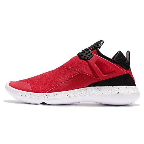 Nike Air Jordan Fly 89 Scarpe Sportive Uomo 940267 Scarpe da Tennis - University Rosso Nero Bianco 601, 44.5