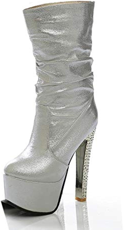 Ai Ya-xuezi Brand Design Talons Party Chaussures Femme Bottes Femme Super Plate-Forme De Talons Design Hauts Chaussures Femme... 1cb2bc