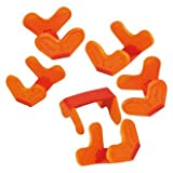 Haba 3495 Bausteinklemme 1 Stück orange
