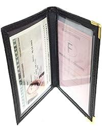 4701395aa87 LOLUNA® - Porte Carte d identité et permis de Conduire en Petit Format  Compact