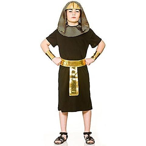 Disfraz de rey egipcio para niños