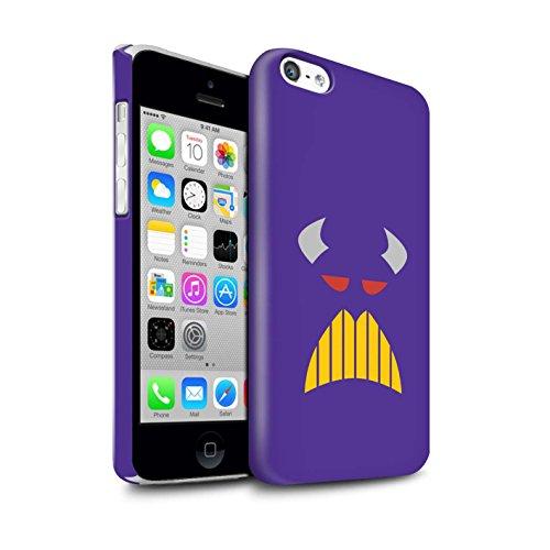 Stuff4® Glanz Snap-On Hülle/Case für Apple iPhone 5C / Kaiser Zurg Inspiriert Muster/Süße Spielzeugfiguren Kollektion