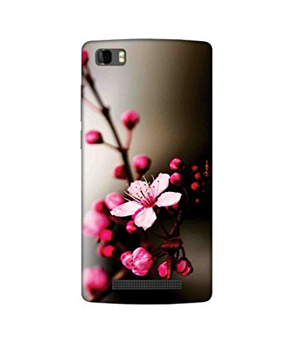 Sketchfab Colorful pink flower Latest Design High Quality Printed Designer Back Case Cover For Panasonic P75